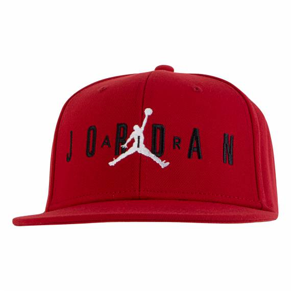 JORDAN JUMPMAN AIR CAP RED (JUNIOR)