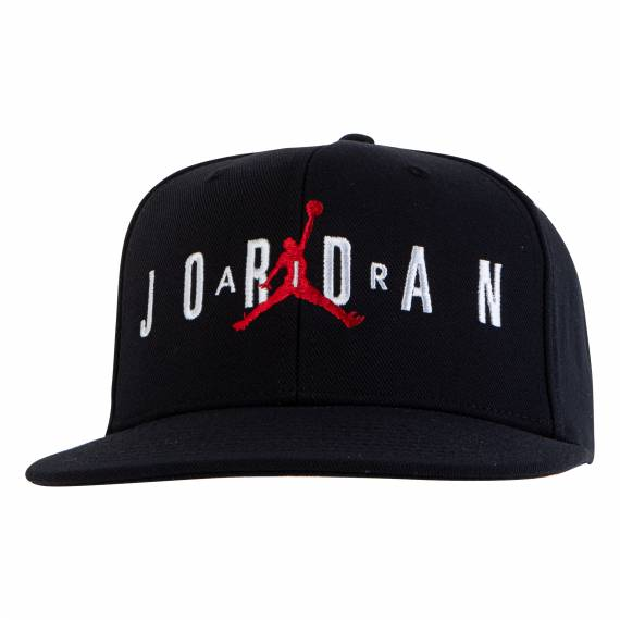 JORDAN KIDS JUMPMAN AIR CAP BLACK (JUNIOR)