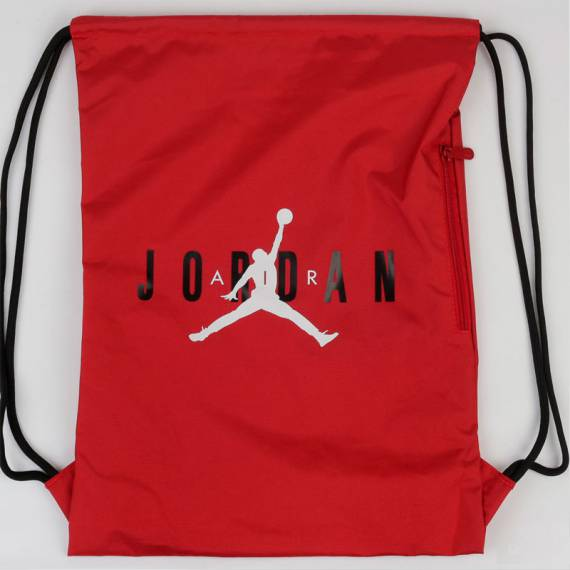 JORDAN HBR GYM SACK RED