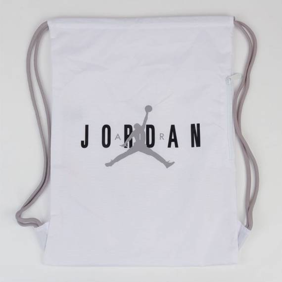 JORDAN HBR GYM SACK WHITE