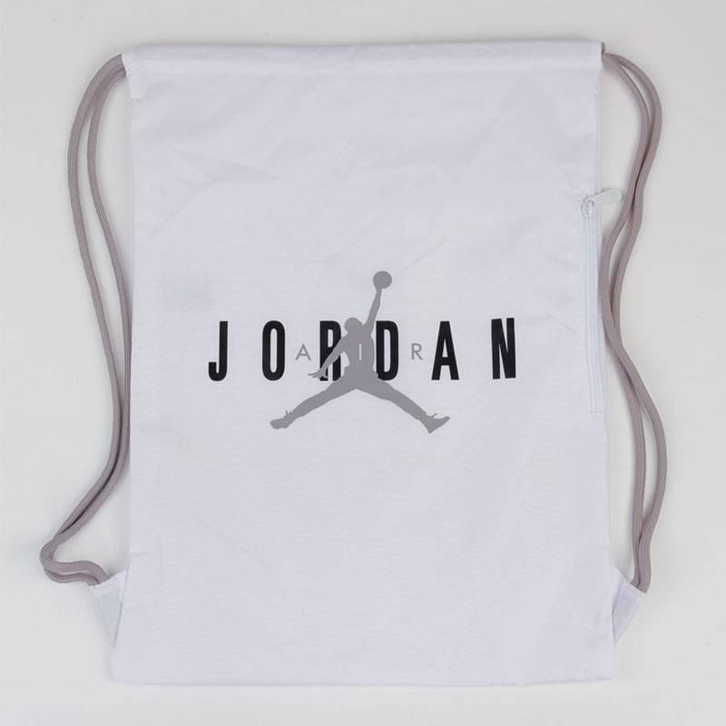 JORDAN HBR GYM SACK WHITE