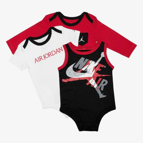 JORDAN SET JUMPMAN BABY (PACK DE 3)