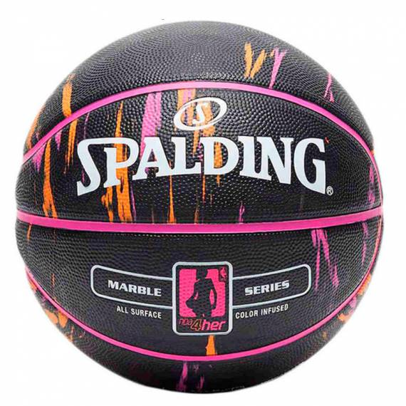 NBA MARBLE 4HER OUT 6 BLACK