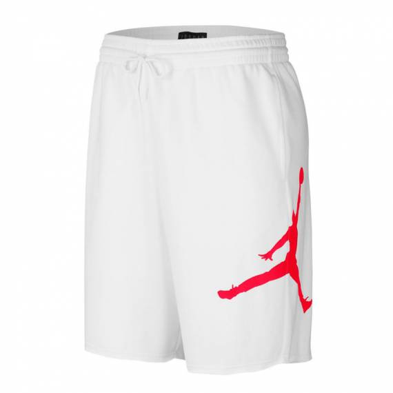 JORDAN JUMPMAN FLEECE SHORT WHITE