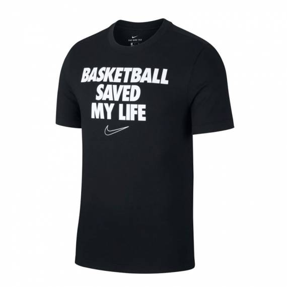 BBALL LIFESAVER TEE BLACK