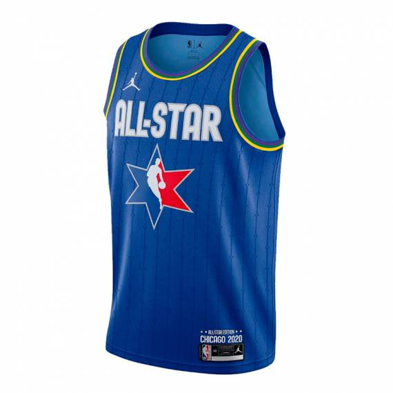 GIANNIS ANTETOKOUNMPO ALL STAR 2020 SWINGMAN JERSEY BLUE