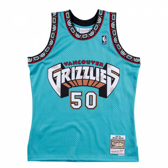 BRYANT REEVES VANCOUVER GRIZZLIES HARDWOOD CLASSICS 95-96