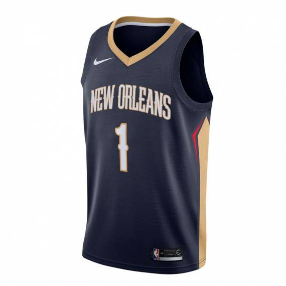 ZION WILLIAMSON NEW ORLEANS PELICANS ICON EDITION SWINGMAN JERSEY 2019