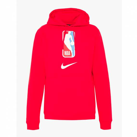 NBA LOGO PO HOODIE RED (JUNIOR)