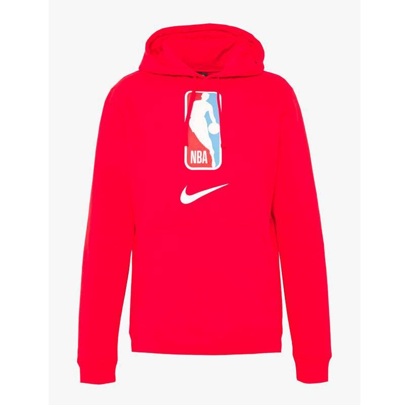 NBA LOGO PO HOODIE RED (JUNIOR)