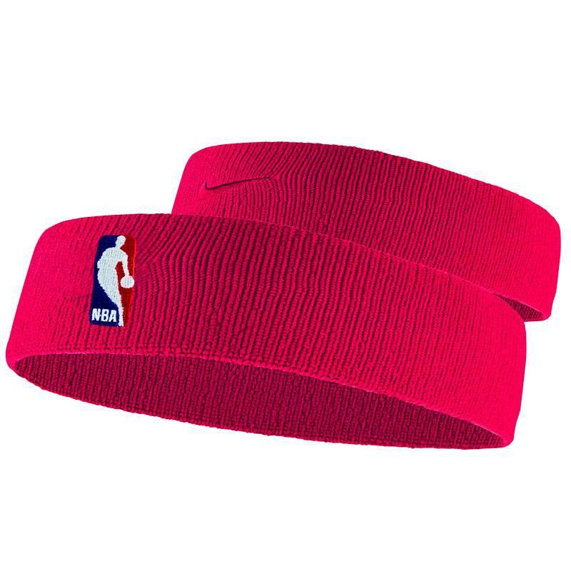 NIKE HEADBAND NBA RED
