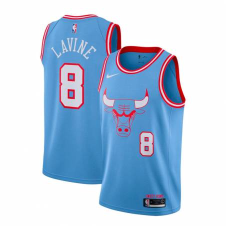 ZACH LAVINE CHICAGO BULLS CITY EDITION SWINGMAN JERSEY 2019 (JUNIOR)