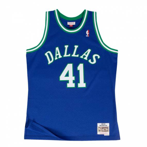 DIRK NOWITZKI DALLAS MAVERICKS HARDWOOD CLASSICS 98-99