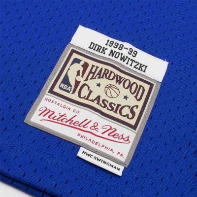 DIRK NOWITZKI DALLAS MAVERICKS HARDWOOD CLASSICS 98-99