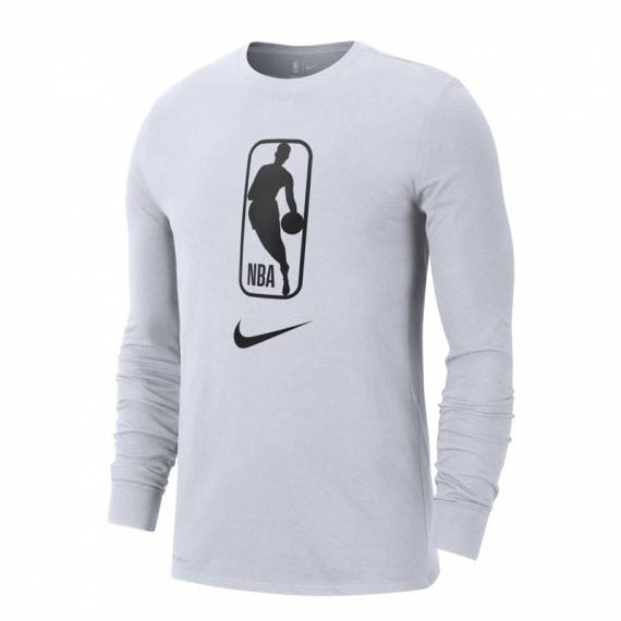 NBA ICONIC TEE LS WHITE