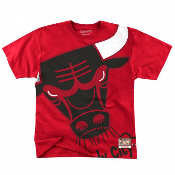 CHICAGO BULLS BIG FACE TEE