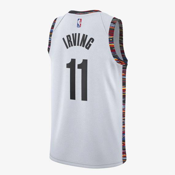 KYRIE IRVING BROOKLYN NETS CITY EDITION SWINGMAN JERSEY 2020 (JUNIOR)