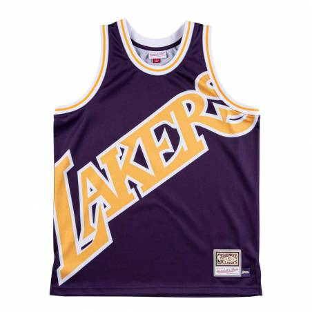 BIG FACE LAKERS JERSEY
