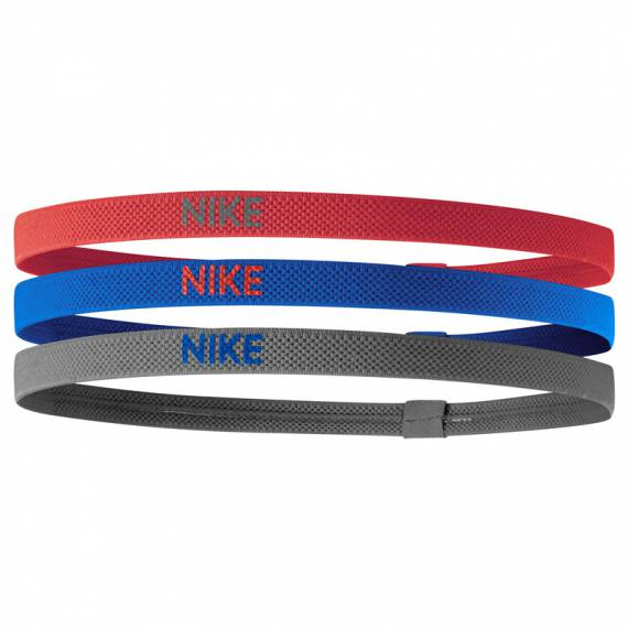 NIKE ELASTIC HAIRBANDS 3PACK RBG