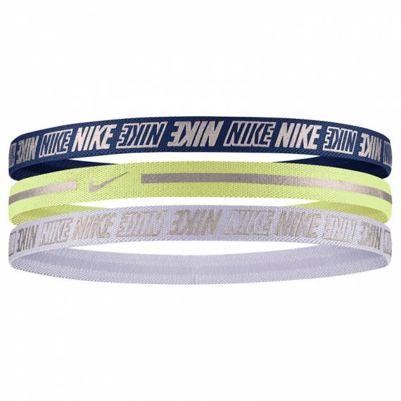 NIKE METALLIC HEADBANDS 3PK 2.0 BYW