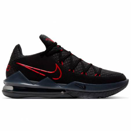 LEBRON XVII LOW BLACK