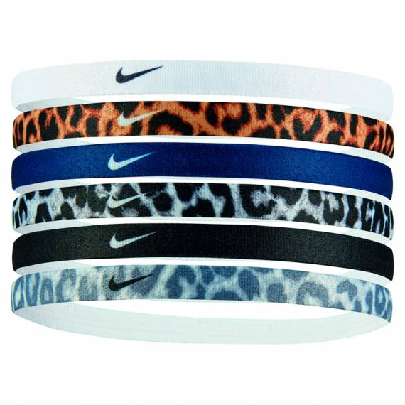 NIKE PRINTED HEADBANDS 6PACK