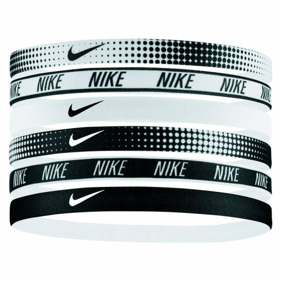 NIKE PRINTED HEADBANDS ASSORTED 6PACK AWB