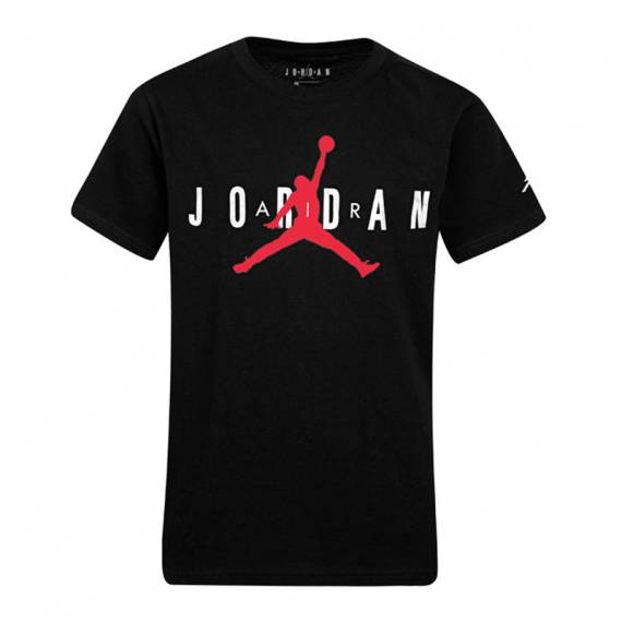 JORDAN JUMPMAN LABEL TEE BLACK