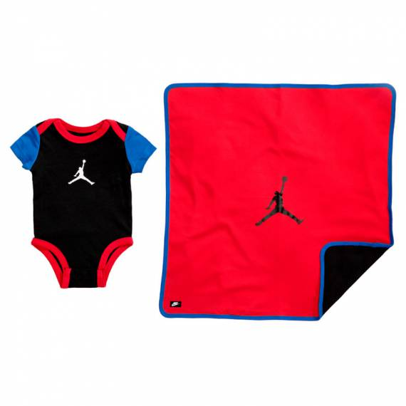 JORDAN ELEVATE BODYSUIT AND BLANKET