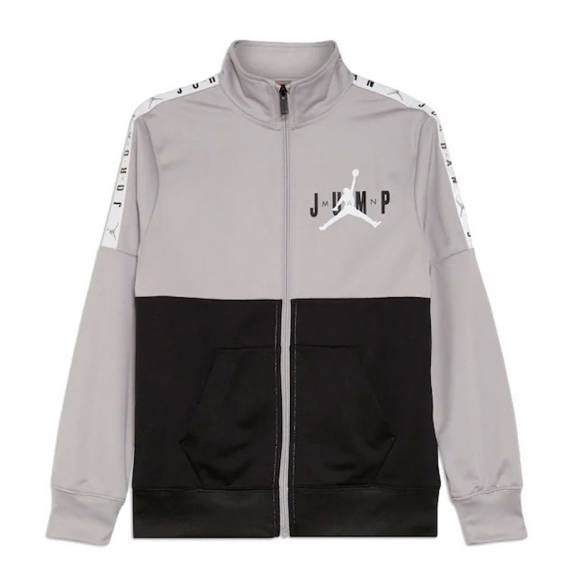 JUMPMAN SIDELINE TRICOT JACKET GREY