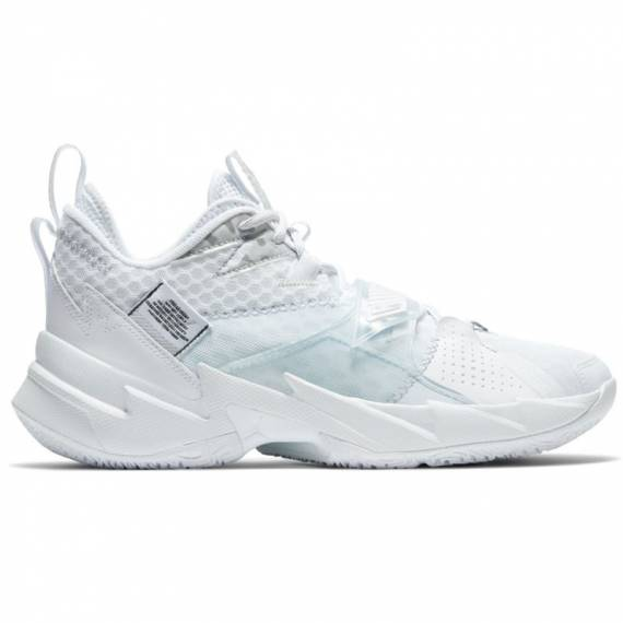 JORDAN WHY NOT ZER0.3 TRIPLE WHITE