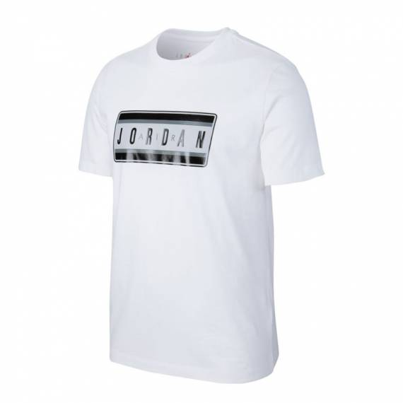 JORDAN STICKER TEE WHITE