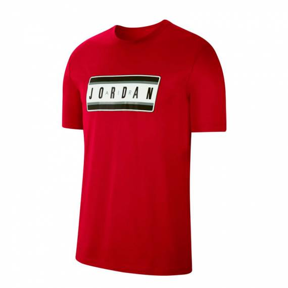 JORDAN STICKER TEE RED