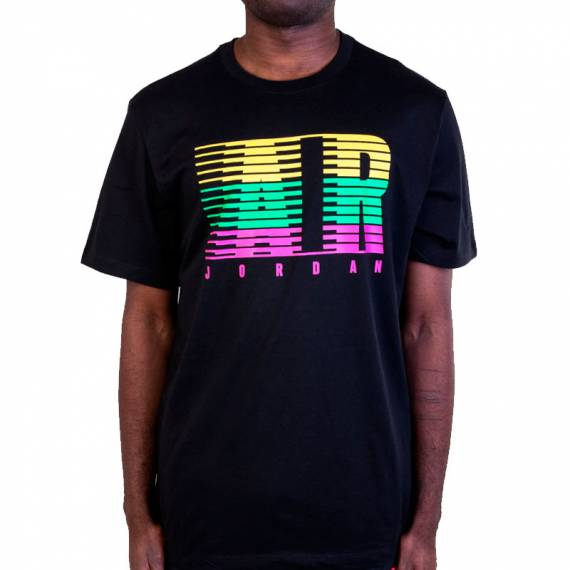 JORDAN AIR FADE MOTION TEE BLACK