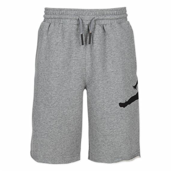 JUMPMAN AIR FT SHORT GREY (JUNIOR)
