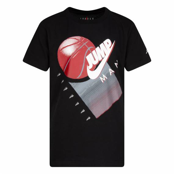 JUMPMAN GRAPHIC TEE BLACK (JUNIOR)