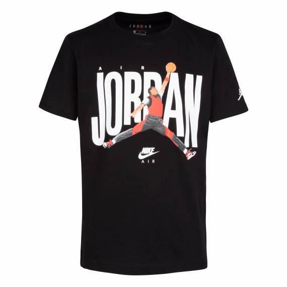 JORDAN DUNK PHOTO TEE BLACK (JUNIOR)