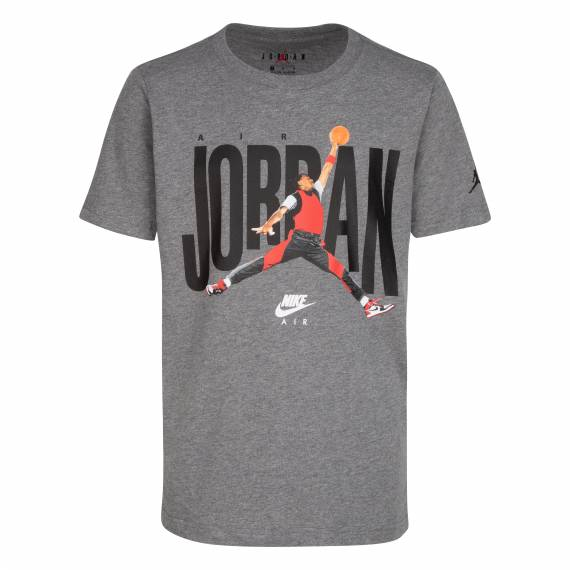 JORDAN DUNK PHOTO TEE GREY (JUNIOR)