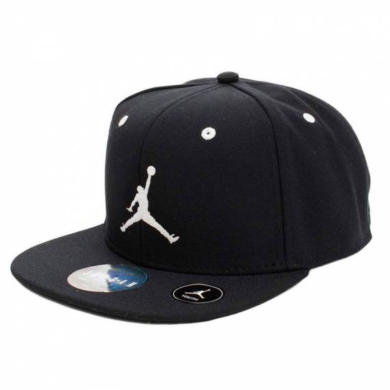 JORDAN JUMPMAN SNAPBACK BLACK (JUNIOR)