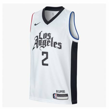 KAWHI LEONARD LOS ANGELES CLIPPERS SWINGMAN JERSEY 2020 (JUNIOR)