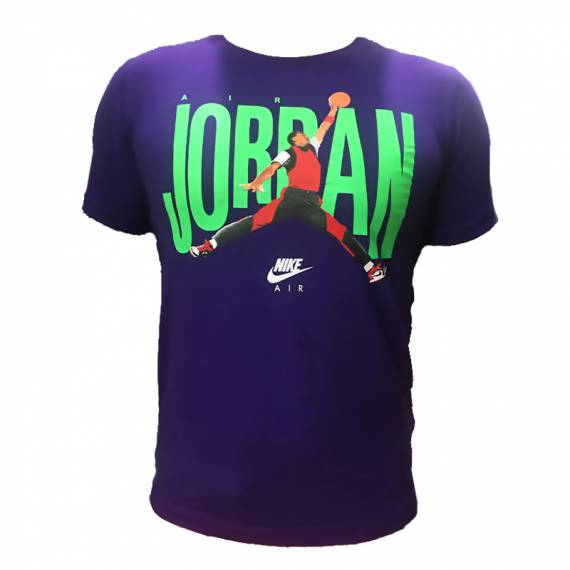 JORDAN DUNK PHOTO TEE PURP (JUNIOR)