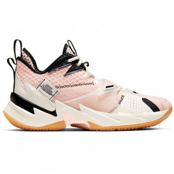 JORDAN WHY NOT ZER0.3 WASHED CORAL
