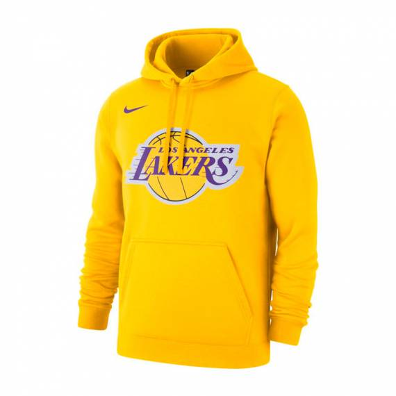 LOS ANGELES LAKERS POLO FLEECE LOGO HOODIE Y