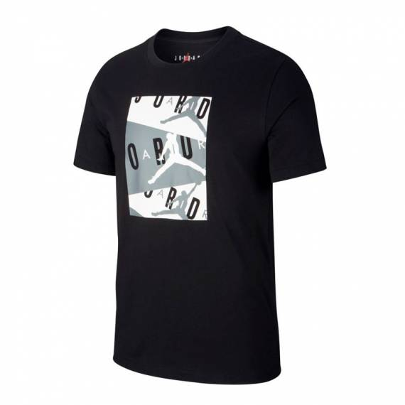 JORDAN JUST AIR TEE BLACK