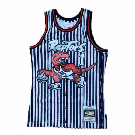 STRIPED JERSEY TRACY MCGRADY RAPTORS