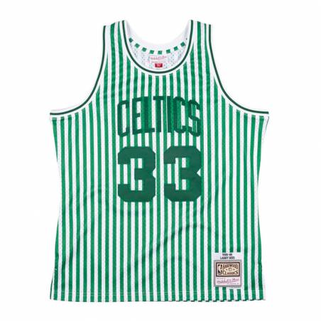 STRIPED JERSEY LARRY BIRD CELTICS