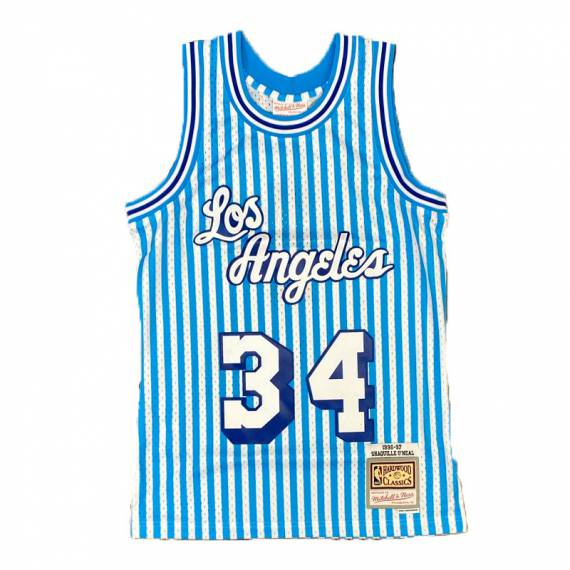 STRIPED JERSEY SHAQUILLE O'NEAL LAKERS