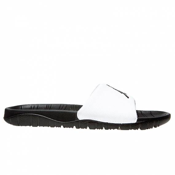 JORDAN BREAK SLIDE BLACK/WHITE