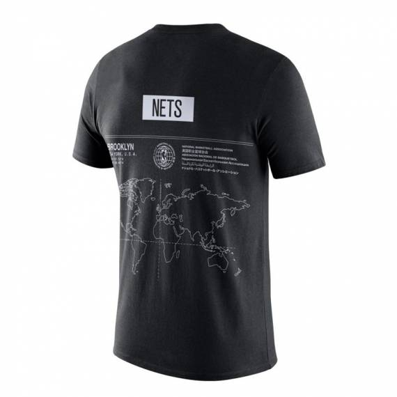 BROOKLYN NETS AROUND THE WORLD TEE