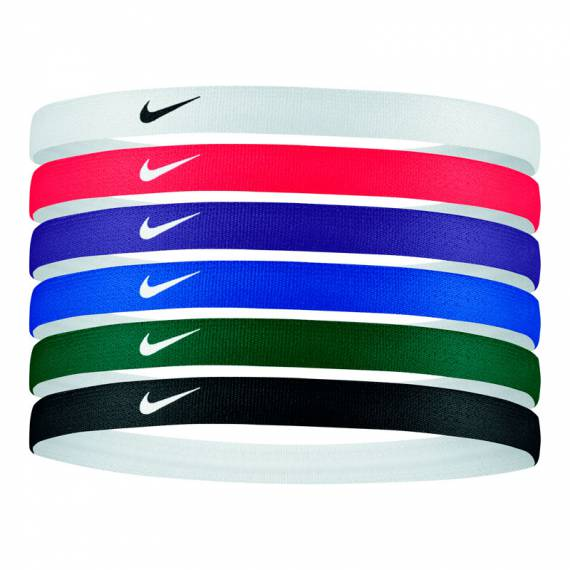 NIKE PRINTED HEADBANDS M5 6PK